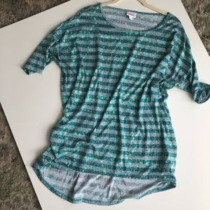 Striped Tunic Top Lularoe